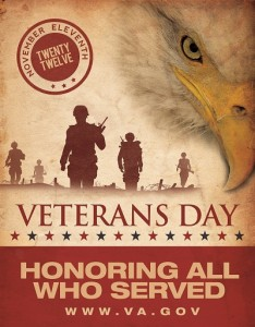 2012 Veterans Day Poster